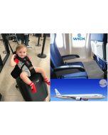 Bagrider + Wick Air Vliegtuigbedje