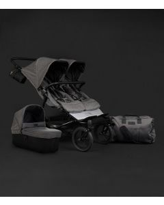 Mountain Buggy Duet (Luxury Bundle) inclusief 1 gratis reiswieg + luxe luiertas